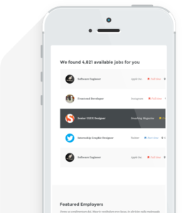 Take the workjobs apo on the go.